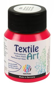 Barva na textil Nerchau - Textile Art - 59 ml - brilantní růžová