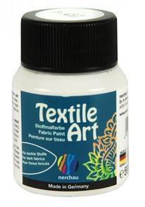 Barva na textil Nerchau - Textile Art - 59 ml - bílá