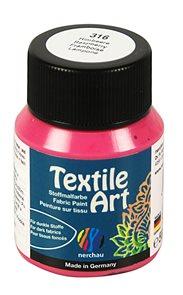 Barva na textil Nerchau - Textile Art - 59 ml - malinová
