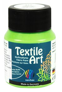 Barva na textil Nerchau - Textile Art - 59 ml - světle zelená