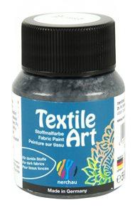 Barva na textil Nerchau - Textile Art - 59 ml - šedá
