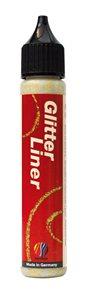 Glitter liner 28 ml - zlatá