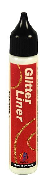 Glitter liner 28 ml - svítivá zelená