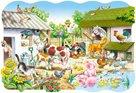 Puzzle - Farma - 20 dílků MAXI (velikost obrázku 68×47 cm)