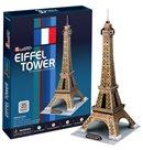 Puzzle 3D - prostorové - Eiffelova věž (35 dílků)