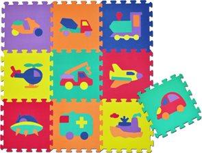 Pěnové puzzle - obrázky, 30×30 cm (10 ks)