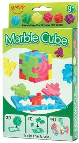 Hlavolam Marble Cube - 6 ks v krabičce