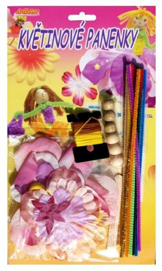 Kreativní sada - Květinové panenky