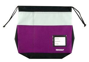 Kapsář na lavici Rosima - fialový