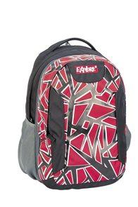 Školní batoh EXPLORE - Pazzle červený