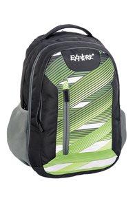 Školní batoh EXPLORE - Lightning stripes zelený