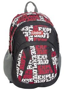 Školní batoh EXPLORE - červený