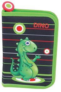 Školní penál Easy - Dino - 1 patrový s 1 chlopní
