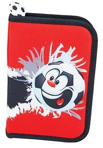 Školní penál Easy - Fotbal - 1 patrový s 1 chlopní