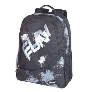 Sportovní batoh Easy - černý Fun