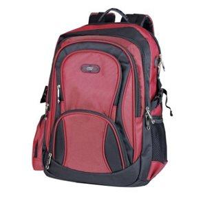 Školní batoh Easy - černo-červený