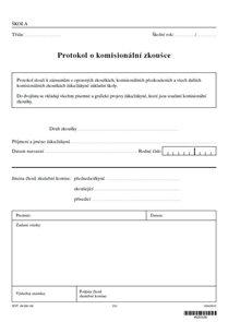 Protokol o komisionální zkoušce