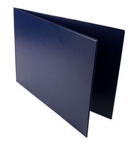 Desky PVC na formát A4, vazba naležato - barva modrá