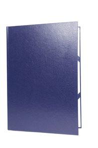 Desky na diplomy a vysvědčení - modré