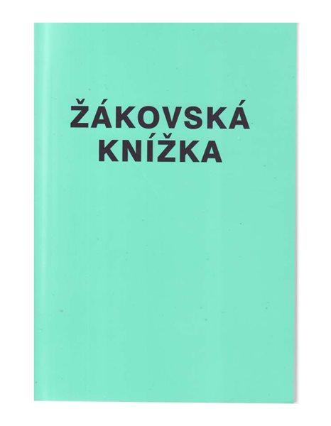 Žákovská knížka (pro žáky SOU) - laminové desky - sešit A6 56 str.