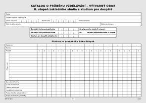 Katalog o průběhu studia pro II. stupeň - výtvarný obor
