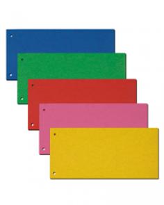 CAESAR OFFICE Rozdružovač Prešpán 10,5 × 24 cm - mix 5 barev