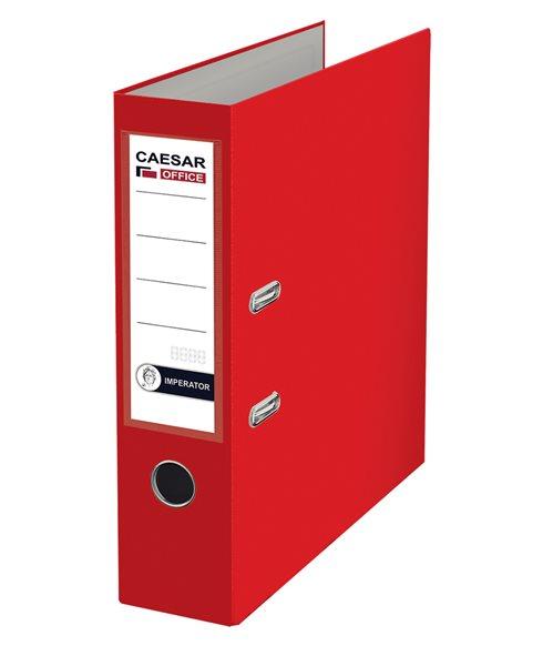 CAESAR OFFICE IMPERATOR Pořadač pákový A4 7,5 cm - červený