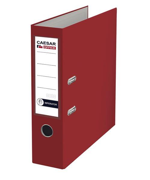 CAESAR OFFICE IMPERATOR Pořadač pákový A4 7,5 cm - vínový