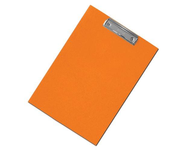CAESAR OFFICE Podložka psací s klipem A4 RainbowLine Prešpán - oranžová