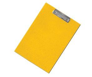 CAESAR OFFICE Podložka psací s klipem A4 RainbowLine prešpán - žlutá