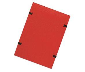 CAESAR OFFICE Spisové desky s tkanicí A4 RainbowLine prešpán - červené