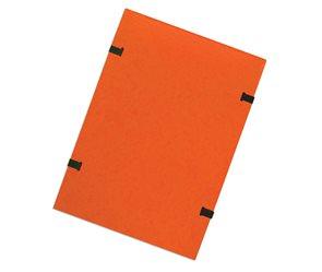 CAESAR OFFICE Spisové desky s tkanicí A4 RainbowLine prešpán - oranžové