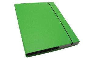 CAESAR OFFICE IMPERATOR Desky s boxem A4 3 cm - sv.zelená