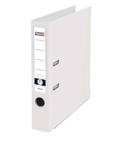 CAESAR OFFICE IMPERATOR Pořadač pákový A4 5 cm, lišty - bílý