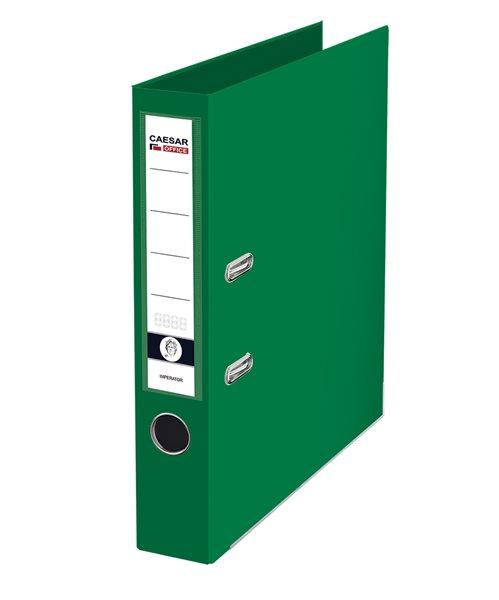 CAESAR OFFICE IMPERATOR Pořadač pákový A4 5 cm, lišty - zelený