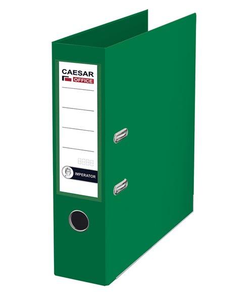 CAESAR OFFICE IMPERATOR Pořadač pákový A4 7,5 cm, lišty - zelený