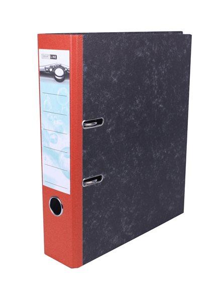 Pořadač pákový 8cm papír - červený