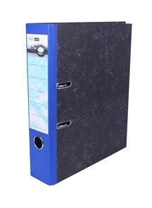 Pořadač pákový 8cm papír - modrý