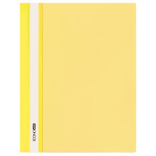 Rychlovazač ECONOMIX A4 plastový lesklý 1 ks - žlutý