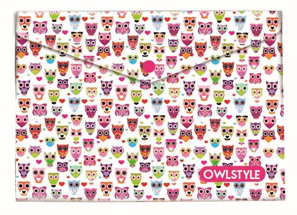Karton PP Desky s drukem A5 - Owl/Sova