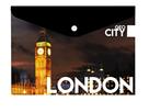 Karton PP Desky s drukem A4 - GEO CITY Londýn