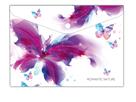 Karton PP Desky s drukem A4 - Romantic Nature Motýl