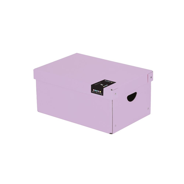 Krabice lamino 35,5 × 24 × 16 cm PASTELINI - fialová