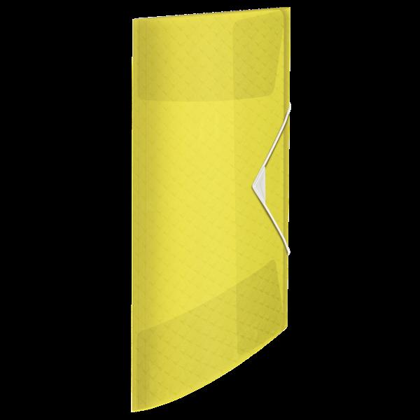 Desky na spisy Esselte Colour'Ice A4 - ledově žlutá