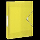 Box na spisy Esselte Colour'Ice A4 2,5 cm - ledově žlutá