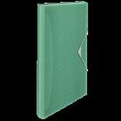Aktovka na spisy Esselte Colour'Ice A4, 6 přihrádek - ledově zelená