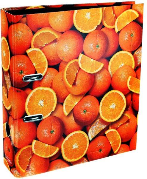 Herlitz Pořadač A4/8 cm lamino - Pomeranče