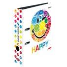 Herlitz Pořadač A4/8 cm lamino - SmileyWorld Rainbow