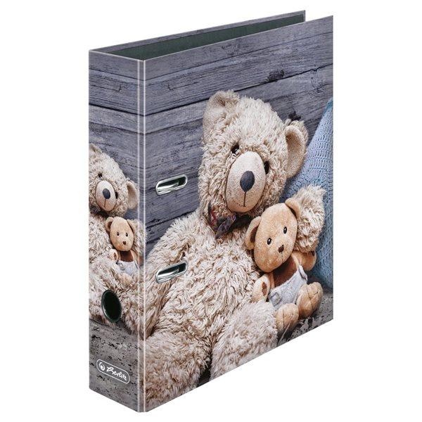 Herlitz Pořadač A4/8 cm lamino - Medvídci