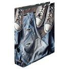 Herlitz Pořadač pákový A4/8 cm lamino - Jeans Shoes